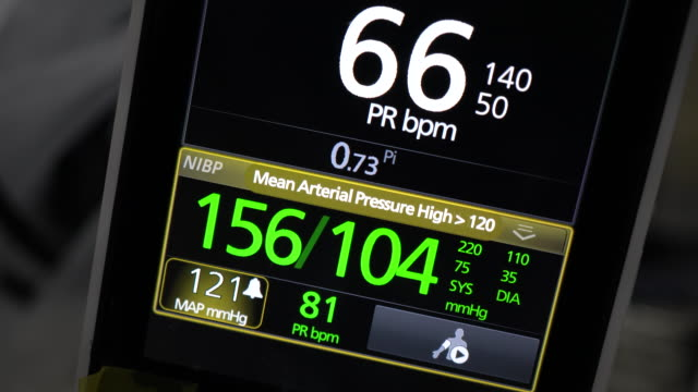 vital sign monitor - instrument of measurement stock videos & royalty-free footage
