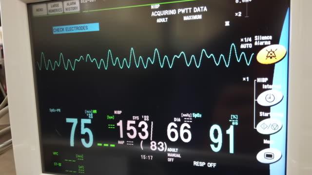 vital sign monitor - wrist stock videos & royalty-free footage