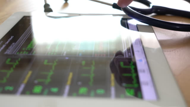 Vital Signs screen Monitor