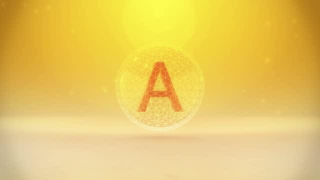 vitamin a - vitamin a nutrient stock videos & royalty-free footage