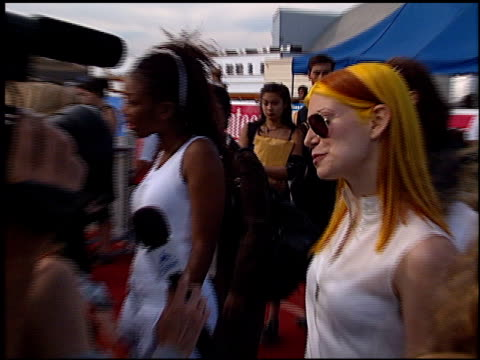 vitamin c at the 1999 teen choice awards at barker hanger in santa monica california on august 1 1999 - vitamin c stock videos and b-roll footage