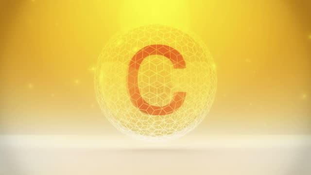 vitamin c - ascorbic acid stock videos & royalty-free footage
