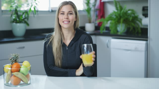 vitamin packed beverages are my favorite - ascorbic acid stock videos & royalty-free footage