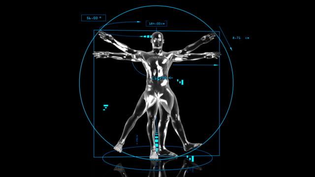 3D Vitruvian Man
