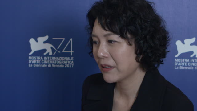 INTERVIEW Vivian Qu on bring the only female director in competition at this years festival at 'Angels Wear White' Interviews 74th Venice...