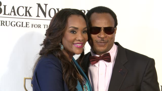 vivica a fox and fred amata at black november screening in washington dc at the john f kennedy center for performing arts on may 08 2012 in... - john f. kennedy center for the performing arts stock videos and b-roll footage