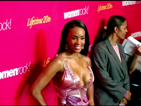 vivica a fox at the 5th annual women rock concert at the wiltern theater in los angeles california on september 28 2004 - wiltern theater stock videos and b-roll footage