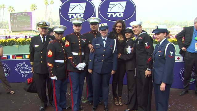 vivica a. fox at the breeders' cup world thoroughbred championships at arcadia ca. - championships stock videos & royalty-free footage