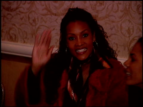 vivica a fox at the women in hollywood luncheon at the four seasons hotel in beverly hills, california on october 11, 2000. - four seasons hotel stock videos & royalty-free footage
