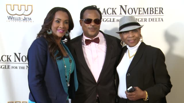 vivica a fox fred amata and guest at black november screening in washington dc at the john f kennedy center for performing arts on may 08 2012 in... - john f. kennedy center for the performing arts stock videos & royalty-free footage
