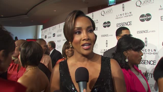 Vivica A Fox on being excited for today's event why black women in hollywood deserve to be honored and what is so special about Essence magazine that...