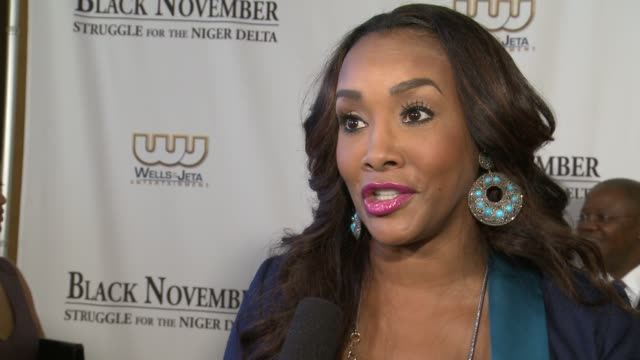vivica a fox on the character she plays in this film on mickey rourke and kim basinger being in the film at black november screening in washington dc... - john f. kennedy center for the performing arts stock videos and b-roll footage