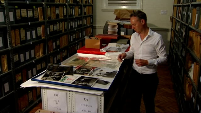 vivien leigh archive bought by victoria and albert museum keith lodwick along in archives - archives stock videos & royalty-free footage