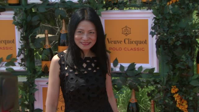 vivienne tam at the sixthannual veuve clicquot polo classic in support of liberty state park in jersey city nj on 6/1/13 - tam bildbanksvideor och videomaterial från bakom kulisserna