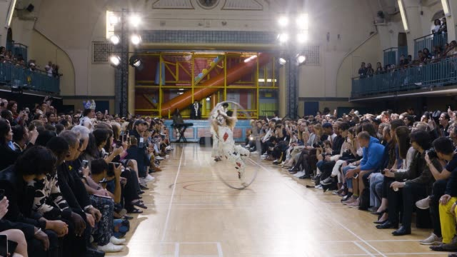 RUNWAY Vivienne Westwood LFWM SS18 at Seymour Leisure Centre on June 12 2017 in London England