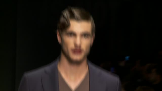 Milan Men's Fashion Week A/W 2011 on January 16 2011 in Milan Italy