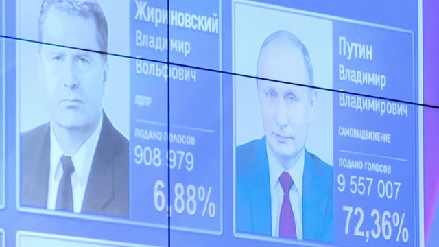 Vladimir Putin cruises to victory in Russia's presidential election giving him at least another six years in power as Moscow's relations with the...