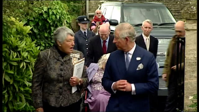 vladimir putin describes prince charles comments as 'unacceptable' england gloucestershire northleach church of st peter st paul ext prince charles... - gloucestershire stock videos and b-roll footage
