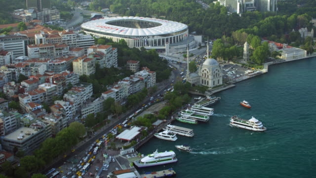 vodafone arena in istanbul turkey - besiktas stock videos and b-roll footage