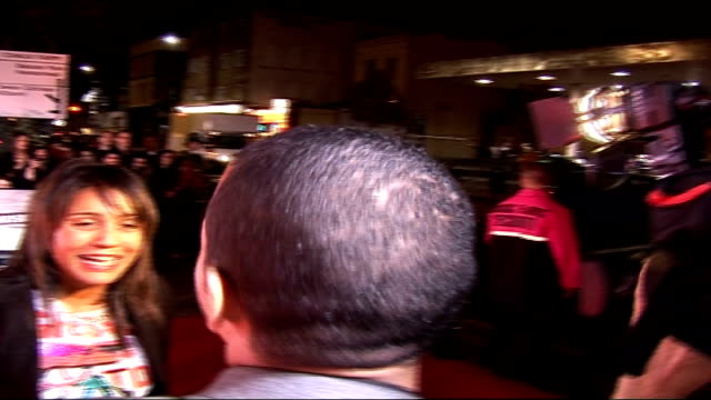 celebrities on red carpet boy george arriving and filming people with digital camera / boy george speaking to press sot / boy george interview sot... - digital camera stock videos and b-roll footage