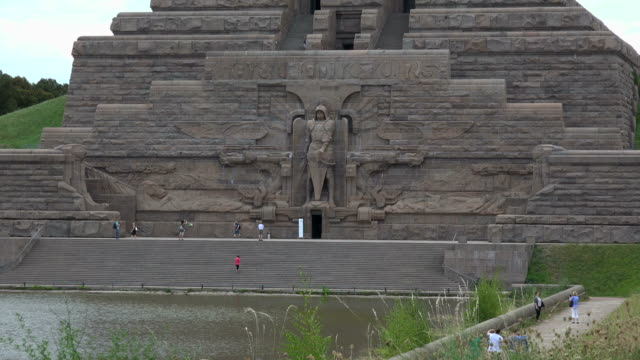 Voelkerschlachtdenkmal (Monument of the Battle of the Nations) in Leipzig, Saxony, Germany