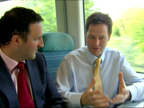After spending the night in Durham Nick Clegg heads south to Eastbourne for one final push before Thursday's polling day