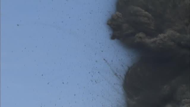 Volcanic Eruption Of Shinmoedake