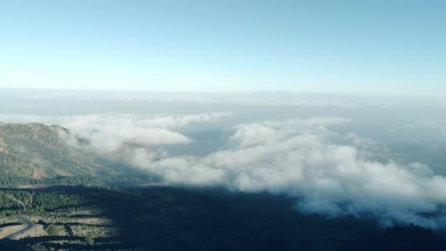 vídeos y material grabado en eventos de stock de paisaje volcánico de tenerife - clima