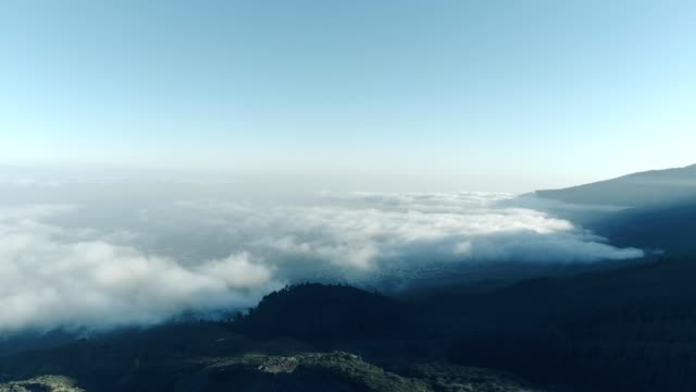 volcanic landscape of tenerife - named wilderness area stock videos & royalty-free footage