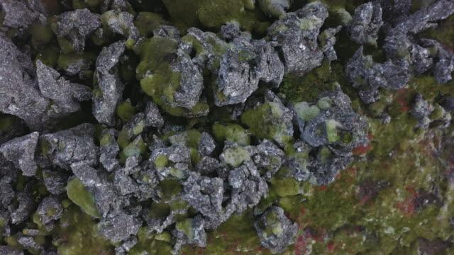 vídeos y material grabado en eventos de stock de paisajes volcánicos de islandia - paisaje volcánico