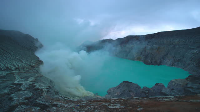 volcano crater / iceland - volcano stock videos & royalty-free footage