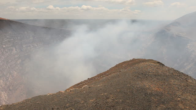 volcano crater timelapse hd - nicaragua stock videos and b-roll footage