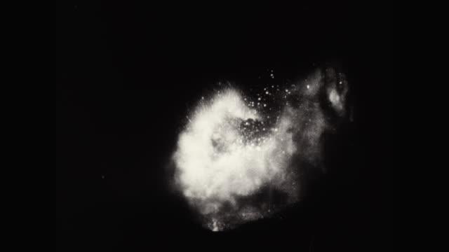 WS Volcano erupting at night / United States
