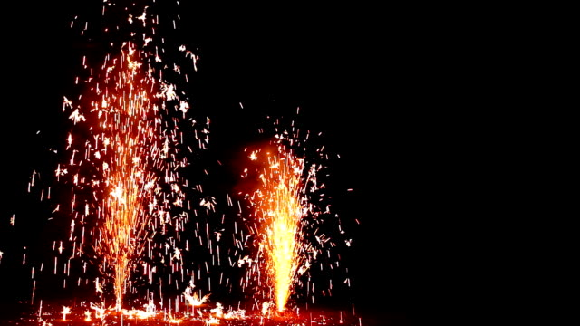 Vulkan-Feuerwerk