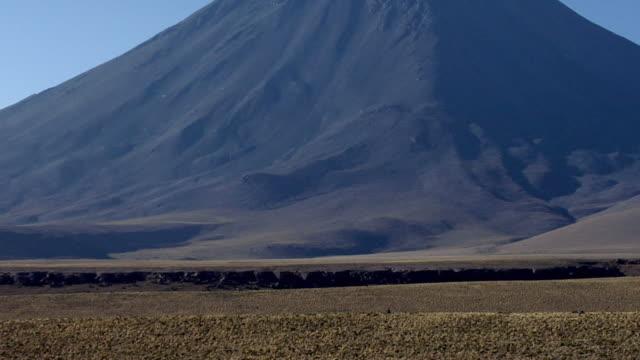 ZO WS Volcano in desert landscape, San Pedro de Atacama, El Loa, Chile