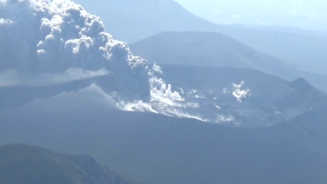 A volcano in southwestern Japan's Kyushu region is erupting for the first time in six years and spread ash in nearby cities and towns Thursday...