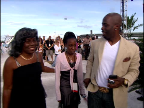 voletta wallace mother of notorious big arriving at the 2005 mtv video music awards red carpet - biggie smalls stock videos and b-roll footage