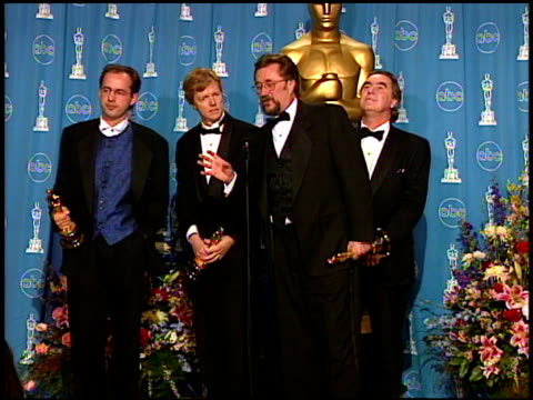 volker engel at the 1997 academy awards governor's ball at the shrine auditorium in los angeles, california on march 24, 1997. - 69th annual academy awards stock videos & royalty-free footage