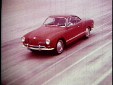 montage volkswagen kharman ghiacommercial - 1970 stock videos & royalty-free footage
