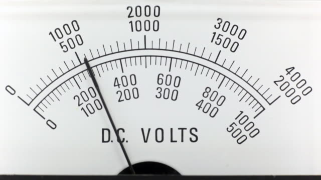 dc voltage analogue power supply - high voltage stock videos & royalty-free footage