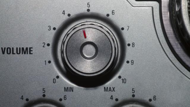 vídeos y material grabado en eventos de stock de volume dial - dial