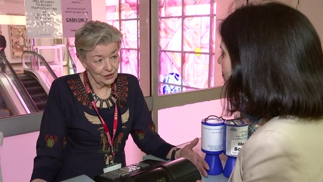 London businesses sign up to 'ValueYou' discount card scheme for volunteers ENGLAND London Hammersmith Charing Cross Hospital INT Sandra Barker...