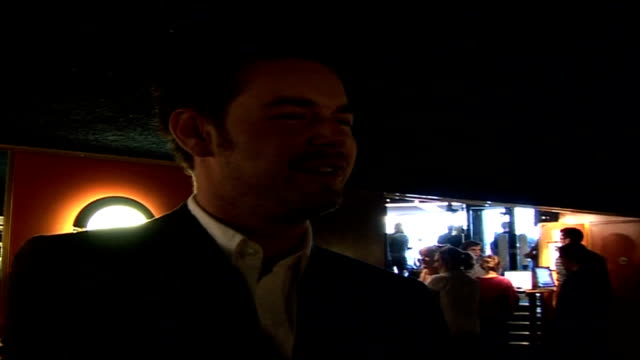 ' volver' film premiere arrivals, interviews, departures and photocalls; danny dyer interview sot - don't know anything about this film / is it a... - number 6 stock videos & royalty-free footage