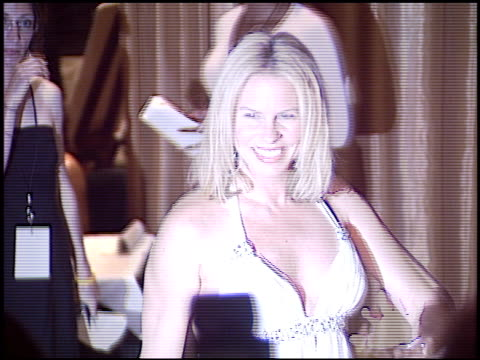 stockvideo's en b-roll-footage met vonda shephard at the ascap pop music awards at the beverly hilton in beverly hills, california on may 16, 2005. - vonda shepard