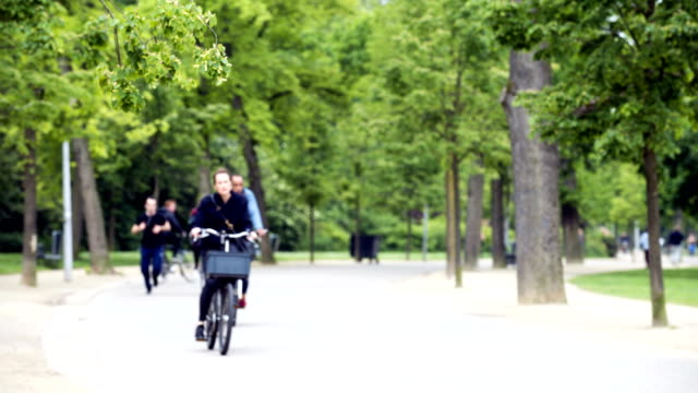 vondelpark - activity stock videos and b-roll footage