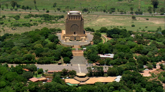 Voortrekker Monument   - Aerial View - Gauteng,  City of Tshwane Metropolitan Municipality,  City of Tshwane,  South Africa