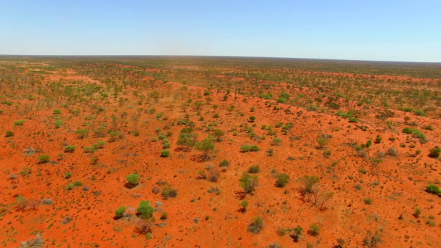 vortex in the outback in western australia - desert area stock videos & royalty-free footage