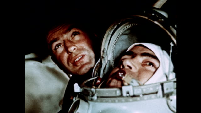vostok missions 2, 3 and 4 earn soviet astronauts global admiration - zero gravity stock videos & royalty-free footage