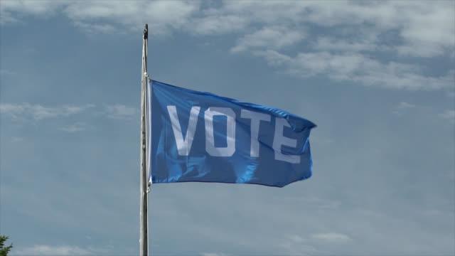 vote flag - us politics stock videos & royalty-free footage