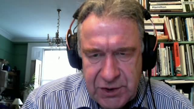 vote to adopt neutral position on assisted dying; england: int reporter asking questions via internet sot dr john chisholm interview via internet sot - politics stock videos & royalty-free footage